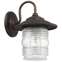 Capital Lighting Creekside 1 Light Outdoor Wall Lantern in Old Bronze 9671OB