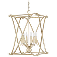 Alexander 6 Light 18 inch Winter Gold Foyer Ceiling Light