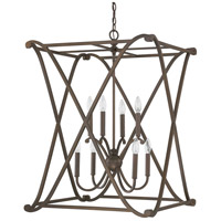 Capital Lighting 9693BB Alexander 8 Light 24 inch Burnished Bronze Foyer Ceiling Light