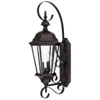 Capital Lighting 9722OB Carriage House 2 Light 27 inch Old Bronze Outdoor Wall Lantern