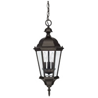 Carriage House 3 Light 10 inch Old Bronze Outdoor Hanging Lantern