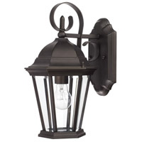 Carriage House 1 Light 15 inch Old Bronze Outdoor Wall Lantern