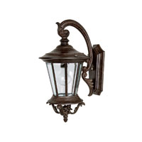 Capital Lighting Madison 1 Light Outdoor Wall Lantern in Tortoise with Clear Glass 9751TS