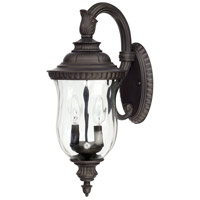 Capital Lighting Ashford 2 Light Outdoor Wall Lantern in Old Bronze 9782OB