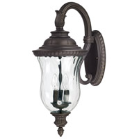 Capital Lighting Ashford 3 Light Outdoor Wall Lantern in Old Bronze 9783OB