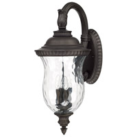 Capital Lighting Ashford 4 Light Outdoor Wall Lantern in Old Bronze 9784OB