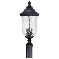 Capital Lighting 9785BK Ashford 3 Light 23 inch Black Outdoor Post Lantern