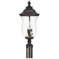 Ashford 3 Light 23 inch Old Bronze Post Lantern