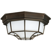 Signature 2 Light 11 inch Old Bronze Outdoor Flush Mount