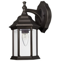 Signature 1 Light 12 inch Old Bronze Outdoor Wall Lantern