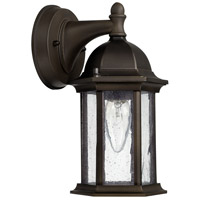 Main Street 1 Light 10 inch Old Bronze Outdoor Wall Lantern