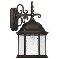 Main Street 1 Light 16 inch Old Bronze Outdoor Wall Lantern