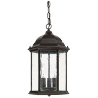 Main Street 3 Light 10 inch Old Bronze Outdoor Hanging Lantern