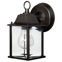 Signature 1 Light 8 inch Old Bronze Outdoor Wall Lantern