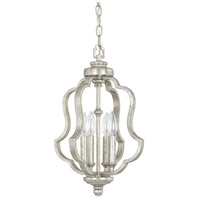 Blair 4 Light 12 inch Antique Silver Foyer Ceiling Light