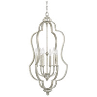 Capital Lighting 9896AS Blair 6 Light 18 inch Antique Silver Foyer Ceiling Light