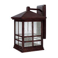 Capital Lighting Preston 3 Light Outdoor Wall Lantern in Mediterranean Bronze 9912MZ