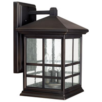 Preston 3 Light 15 inch Old Bronze Outdoor Wall Lantern