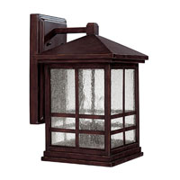 Capital Lighting Preston 4 Light Outdoor Wall Lantern in Mediterranean Bronze with Seeded Glass 9913MBZ photo thumbnail