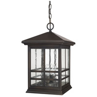 Preston 4 Light 11 inch Old Bronze Outdoor Hanging Lantern