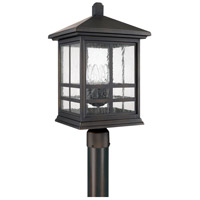 Preston 4 Light 21 inch Old Bronze Post Lantern