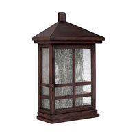 Capital Lighting Preston 2 Light Outdoor Wall Lantern in Mediterranean Bronze 9916MZ