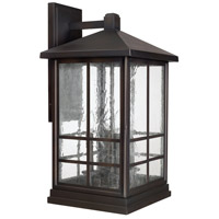 Preston 4 Light 27 inch Old Bronze Outdoor Wall Lantern
