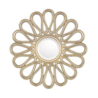 Signature 29 X 29 inch Brushed Gold Mirror Home Decor
