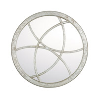 Signature 36 X 36 inch Silver Quartz Mirror Home Decor