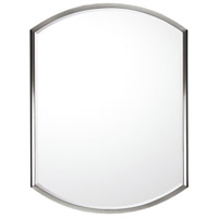 Signature 32 X 24 inch Polished Nickel Mirror Home Decor