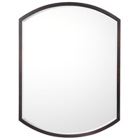 Signature 32 X 24 inch Burnished Bronze Wall Mirror Home Decor