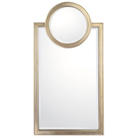 Signature 46 X 24 inch Brushed Silver Wall Mirror Home Decor