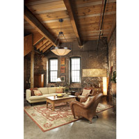 Capital Lighting 4165RT Reserve 6 Light 34 inch Rustic Pendant Ceiling Light alternative photo thumbnail