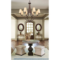 Capital Lighting Soho 8 Light Chandelier in Rustic 4338RT-524 alternative photo thumbnail