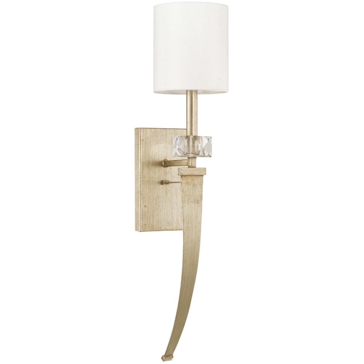 Capital lighting fixtures 628111wg 565 karina wall sconce winter gold