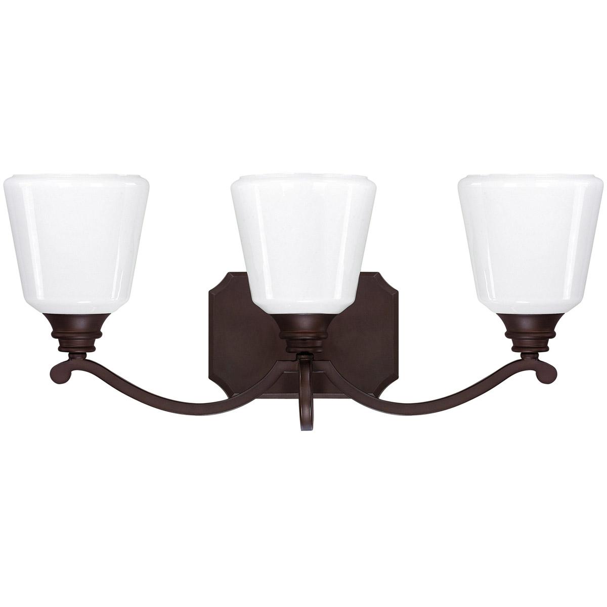 Capital lighting fixtures 8113bb 300 leigh bathroom vanity light