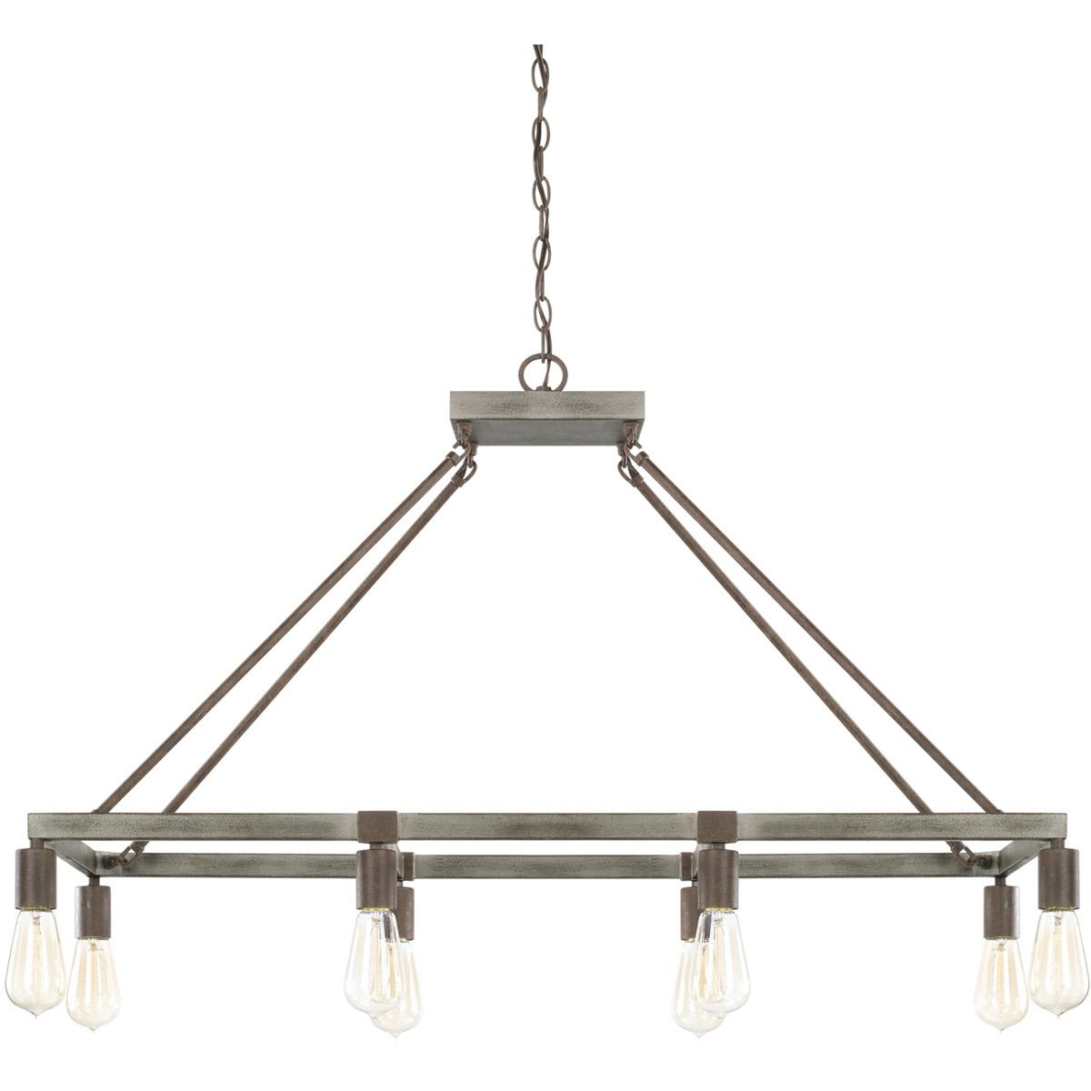 Capital lighting fixtures 825981ug zac island light urban grey