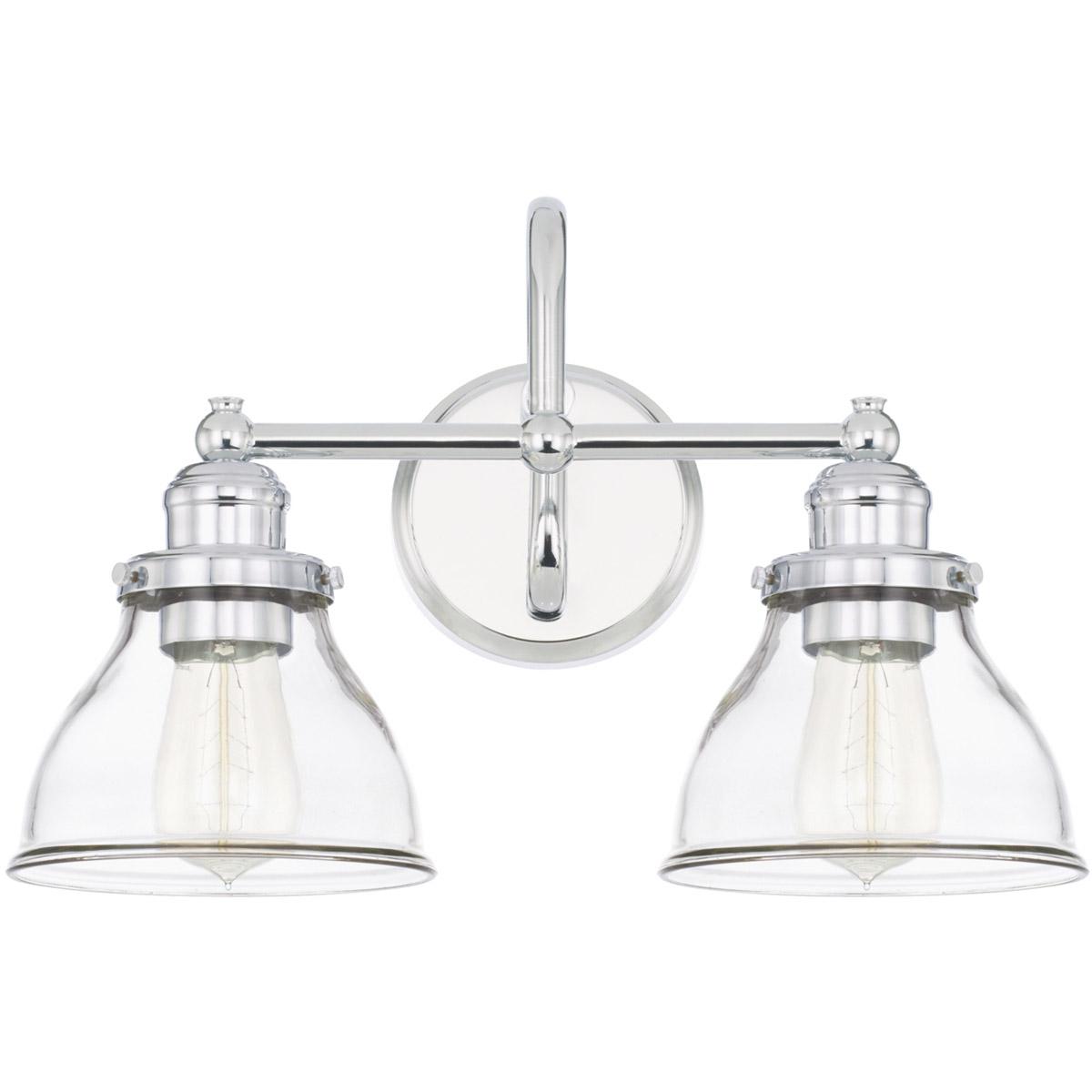 Capital lighting fixtures 8302ch 461 baxter bathroom vanity light chrome