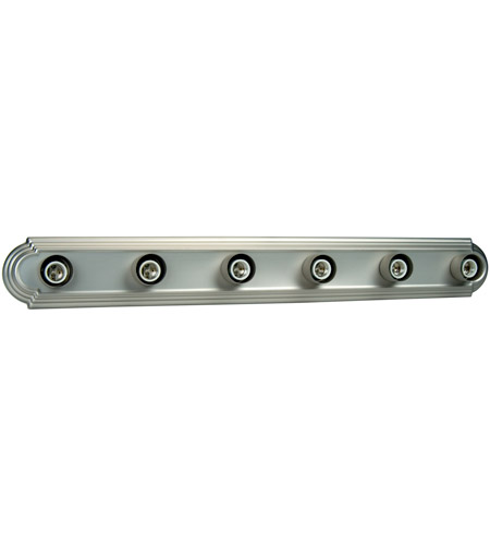 Craftmade 11036bn6 racetrack 6 light 36 inch brushed satin nickel craftmade 11036bn6 racetrack 6 light 36 inch brushed satin nickel vanity light wall light in brushed aloadofball Gallery