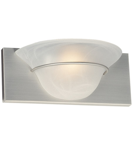 Craftmade 17112BN1 Moonglow 1 Light 12 inch Brushed Satin Nickel Wall Sconce Wall Light photo