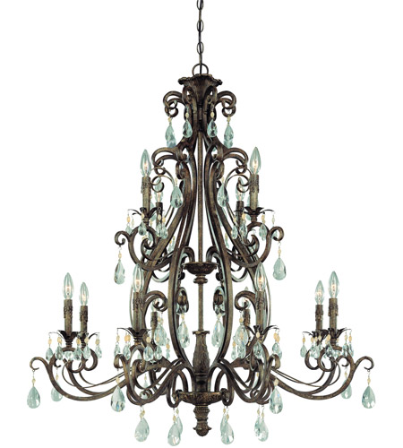 Steel Englewood Chandeliers
