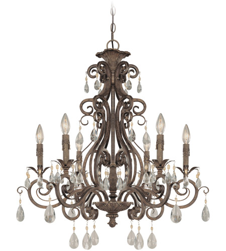 Craftmade 25626-FR Englewood 6 Light 29 inch French Roast Chandelier Ceiling Light photo