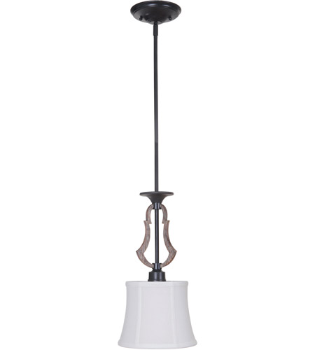 Craftmade 35191-WP Winton 1 Light 9 inch Weathered Pine and Bronze Mini Pendant Ceiling Light photo