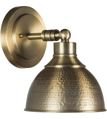 Craftmade 35901 LB Timarron 1 Light 8 Inch Legacy Brass Wall Sconce Wall  Light