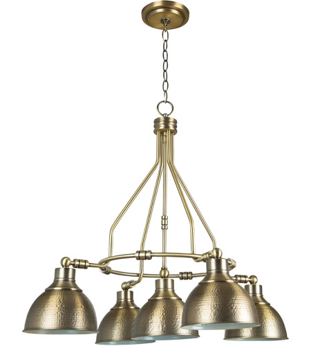 Craftmade 35925-LB Timarron 5 Light 30 inch Legacy Brass Down Chandelier Ceiling Light photo