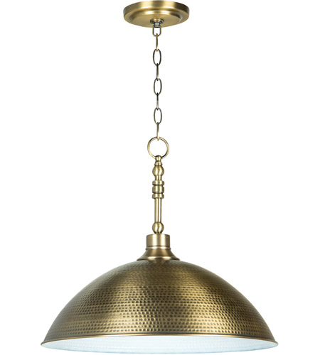Craftmade 35993-LB Timarron 1 Light 20 inch Legacy Brass Pendant Ceiling Light, Large photo
