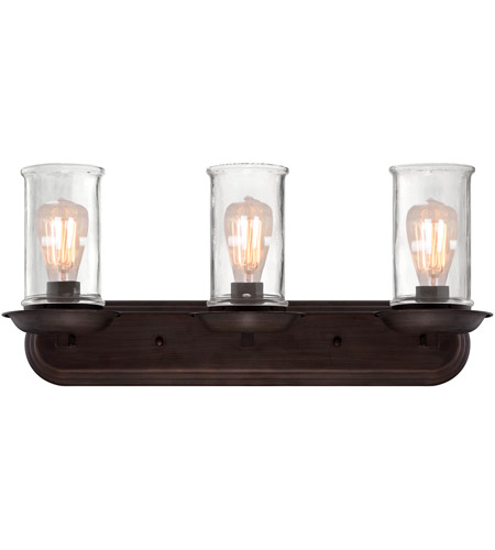 Craftmade 36103-ABZ Thornton 3 Light 25 inch Aged Bronze Brushed Vanity Light Wall Light alternative photo thumbnail