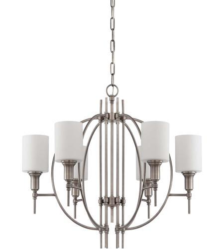 Craftmade 37226 an meridian 6 light 28 inch antique nickel craftmade 37226 an meridian 6 light 28 inch antique nickel chandelier ceiling light aloadofball Gallery