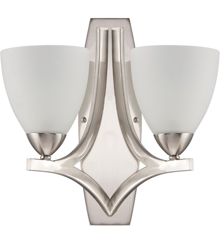 Craftmade Satin Nickel Steel Wall Sconces