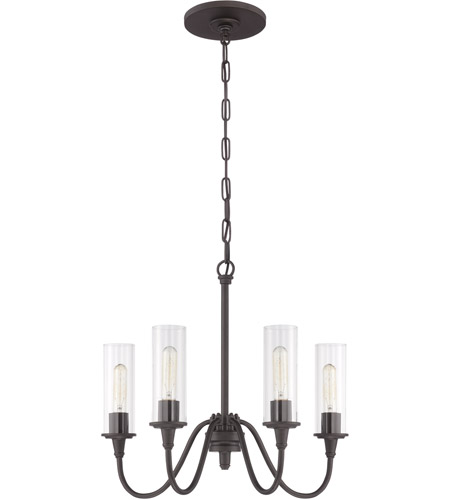 Craftmade 38024-ESP Modina 4 Light 21 inch Espresso Chandelier Ceiling Light photo